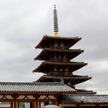四天王寺(中心伽藍、本坊庭園)