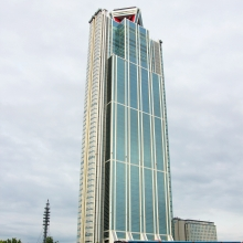 大阪府咲洲行政大樓展望台