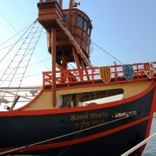 帆船型觀光船聖瑪莉亞號