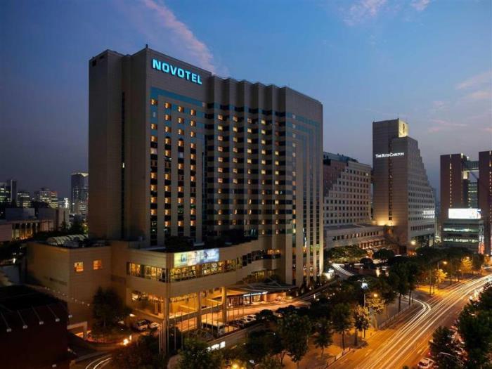 首爾江南諾富特大使酒店的圖片1