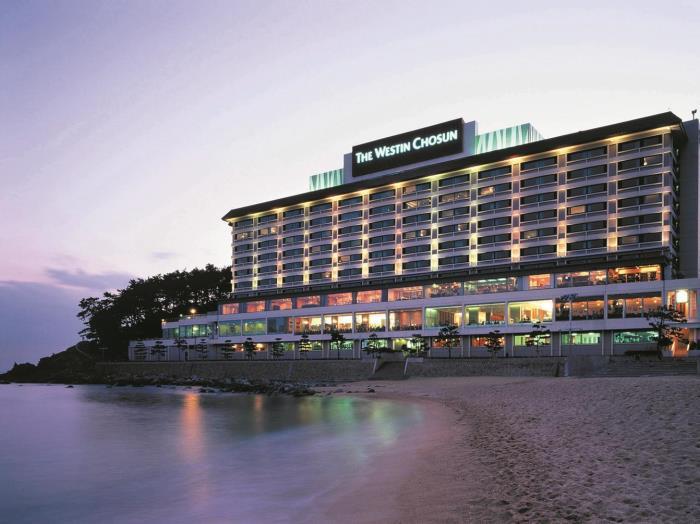 威斯汀朝鮮酒店 - 釜山的圖片1