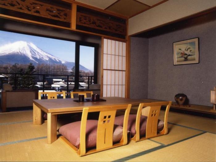 富士山中湖多賀扇酒店的圖片4
