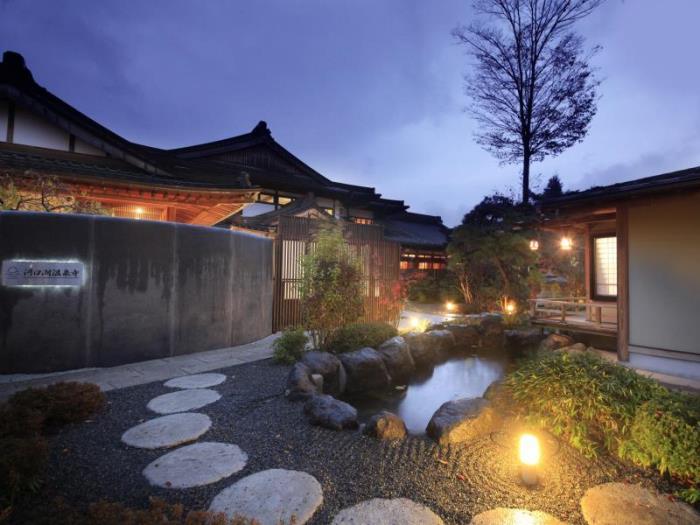 河口湖溫泉寺露天風呂之宿夢殿的圖片1