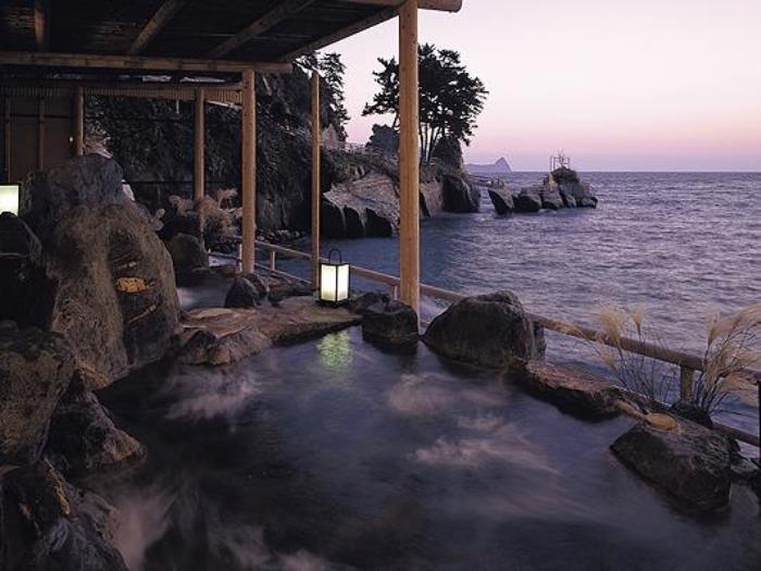 海邊的隱藏湯清流旅館的圖片5