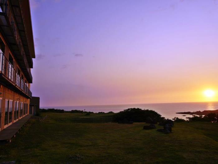 海與夕陽之宿帝水的圖片1